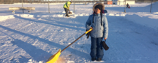 Blaine Lake outdoor rink builds community