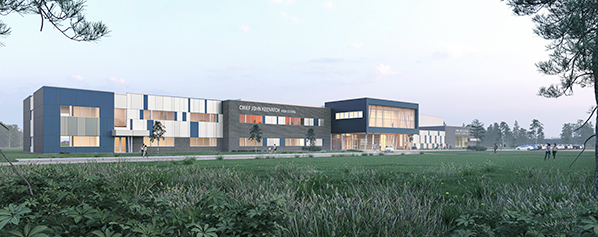 Big River FN getting new school, arena